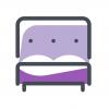 Łóżko małżeńskie